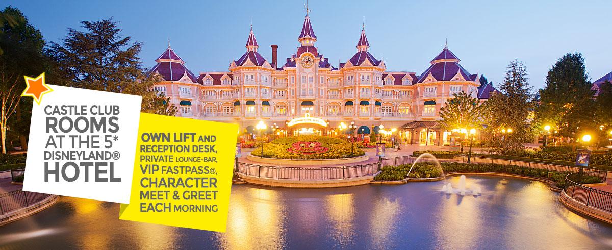 Castle club rooms disneyland hotel disneyland paris hotels for Chambre castle club disneyland hotel